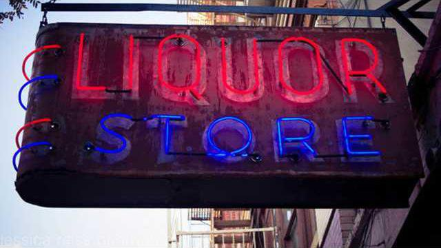 liquor store w L