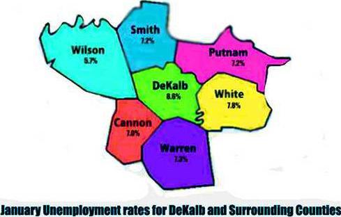 unemployment map jan w l