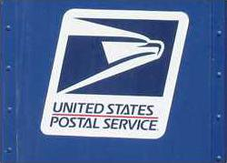 usps logo on box