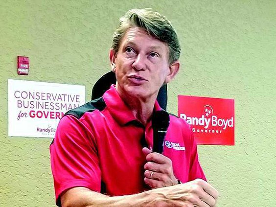 Boyd for governor