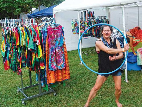 Reggae hoop