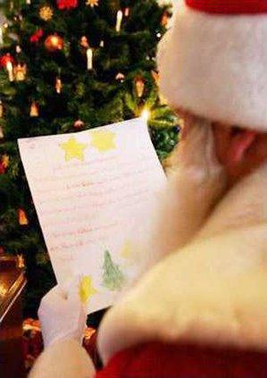 letter santa w sm