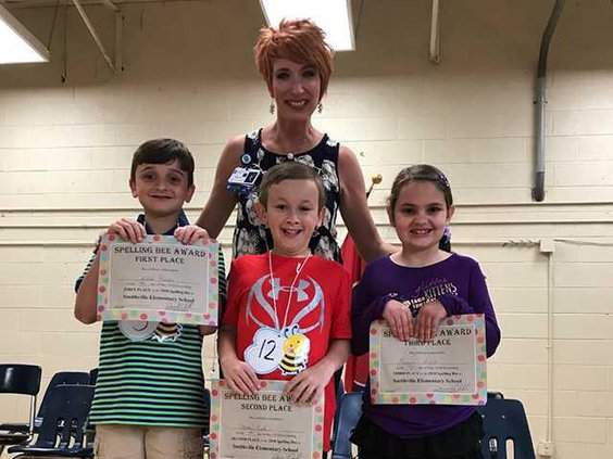 2nd Grade Spelling Bee Winners
