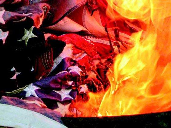 Flag burning original