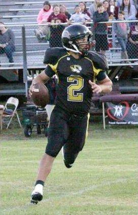 Hunter Poteete threw four touchdowns for DeKalb. rv
