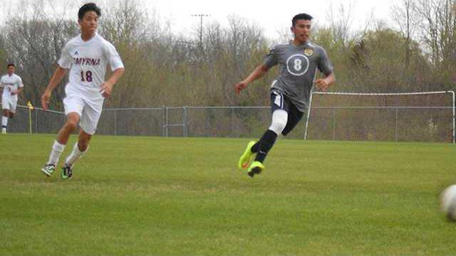 Miguel Rodriguez scoring a Goal for DCHS w L