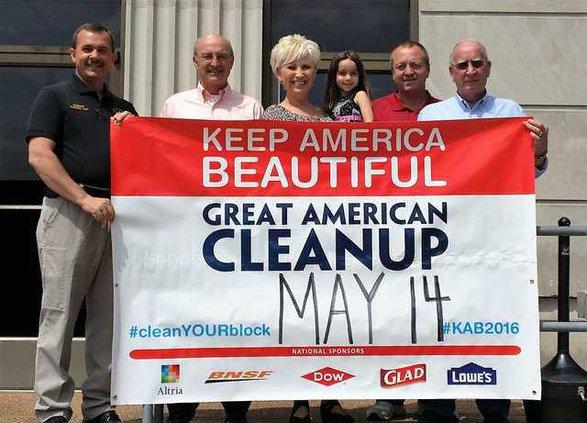 DeKalb Clean Up press release pic