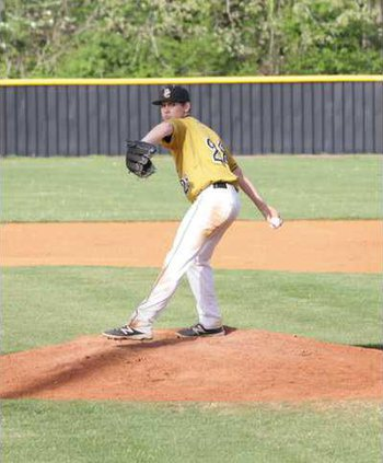 John Maynard held the mound for seven innings against Macon County clocking a win for DeKalb while striking out eight batters and giving up one run in the contest