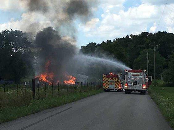 Vaughn lane fire