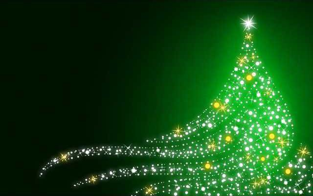 green-christmas-image