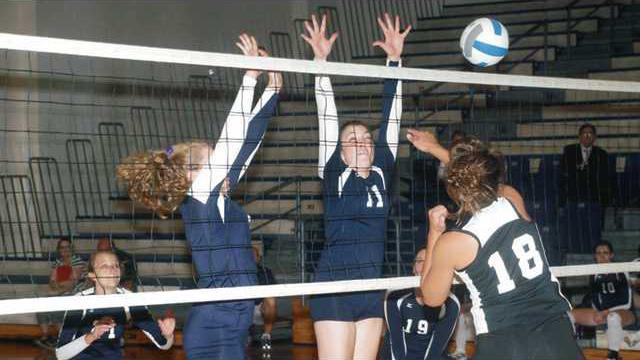 Volleyball---Block