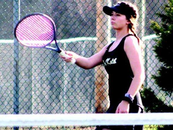 Faith Judkins tennis
