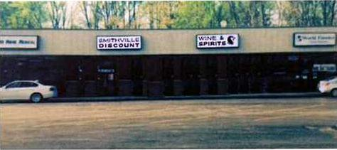 Smithville Discount Wine sign w