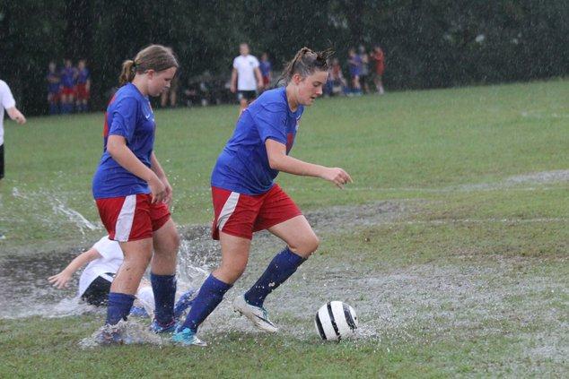 MS soccer Darrah Ramsey sloshes.JPG