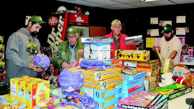 Rescue Squad toy drive