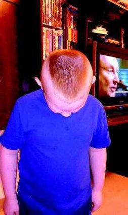 Bobby Ray haircut