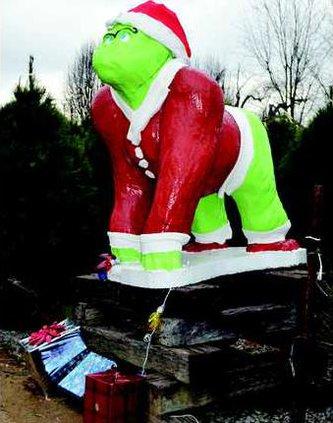 Christmas Gorilla 3