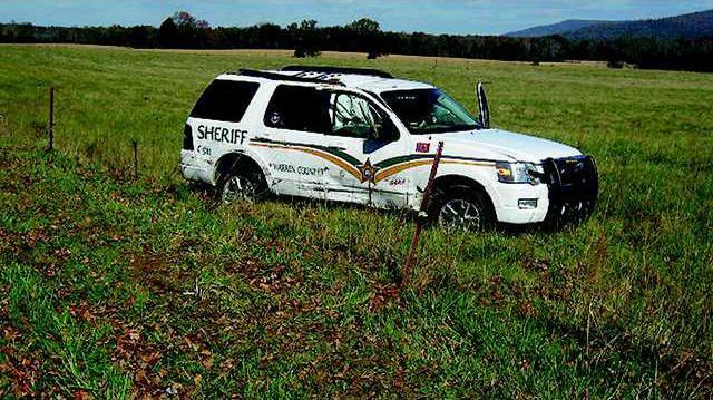 Deputy SUV crashed