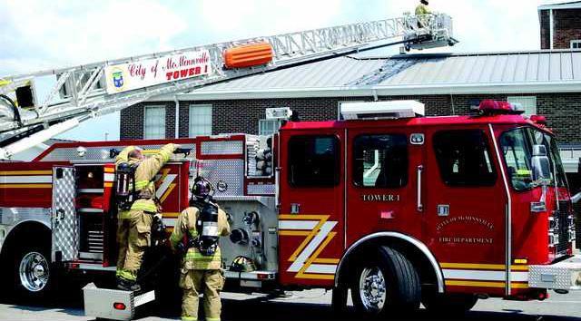 Firetruck tower 1