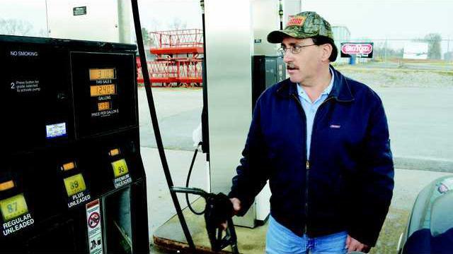 Gas at pump