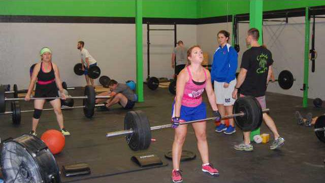 Crossfit action