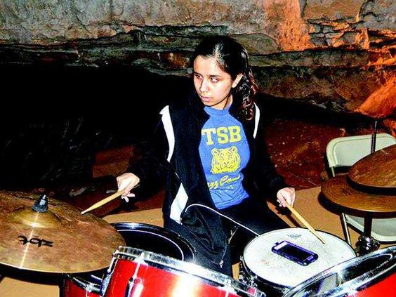 Cumberland Caverns drums 21