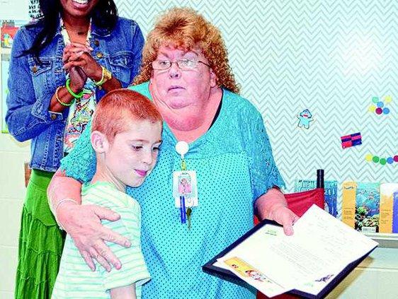 Substitute Teacher of the Year-Paula Morris