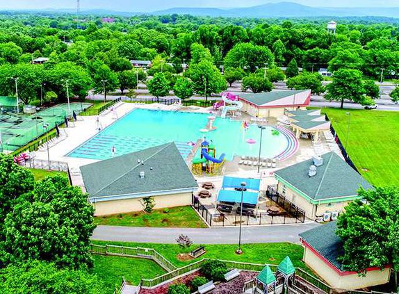 Gilley Pool Sky View 2