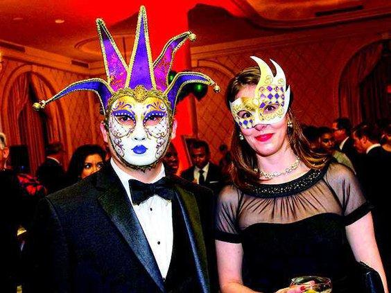 Masquerade prom color