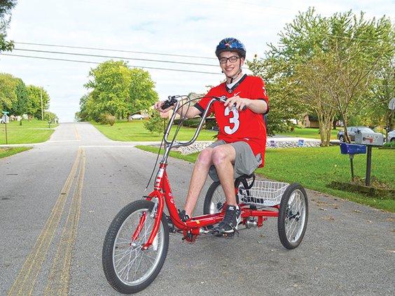 Trevor's new trike.jpg