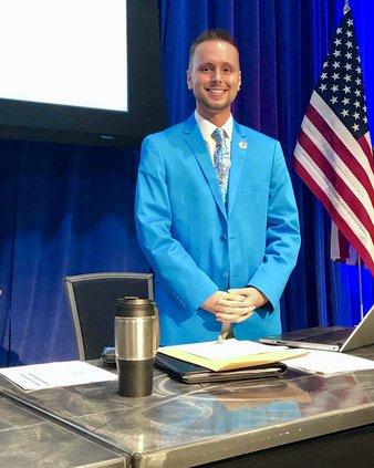 Jordan Wilkins elected chair