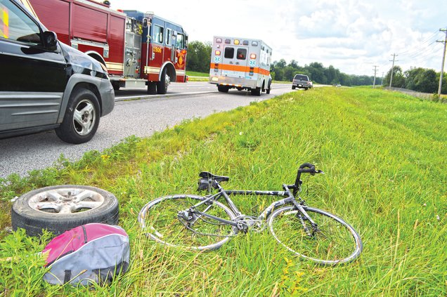 bicycle wreck