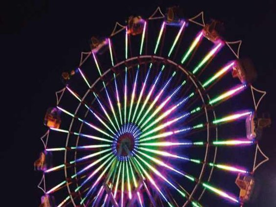 Fair contest - Ferris wheel