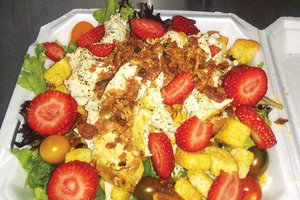 The Lunch Lady - chicken, bacon strawberry salad.jpg