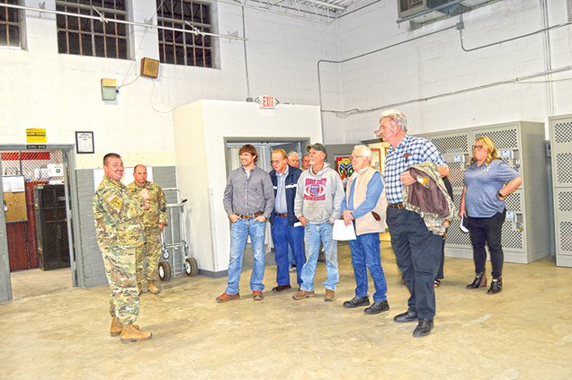 commissioners tour armory1.jpg
