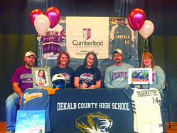 Home run Queen signs with Cumberland