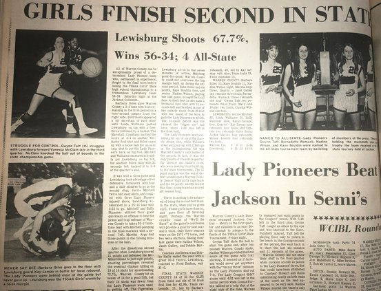 1972 - Lady Pioneers second in state.jpeg