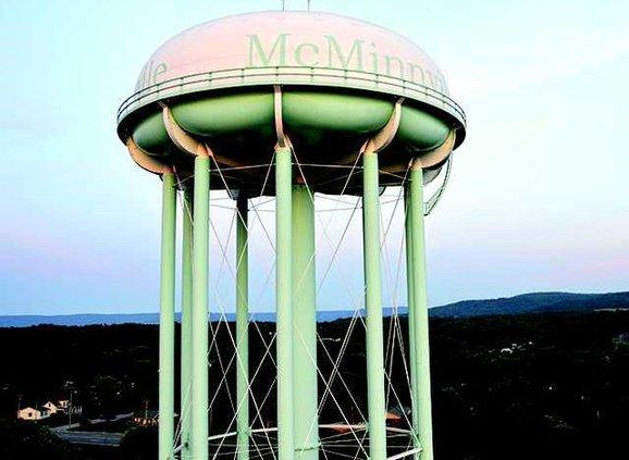 Water tank aerial