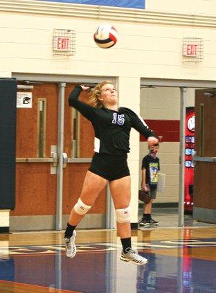 WCHS volleyball - Jessie Young #15.jpg