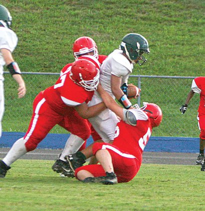 WCMS football -  gang tackle.jpg