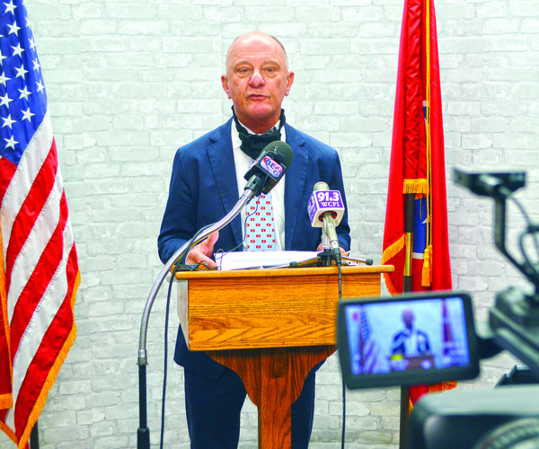 County Executive Jimmy Haley