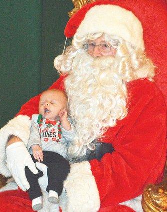 Santa's lap, Blayton King, 2 months in 2019.jpg