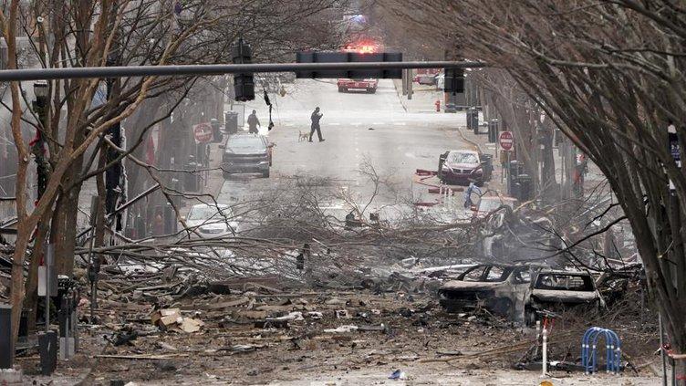 Nashville bomb