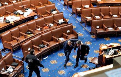 Mob storms Capitol