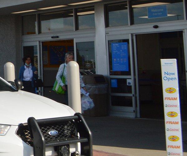 Gun discharges inside Walmart