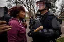 Brooklyn Center confrontation