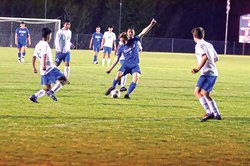 WCHS No 8 Carter Smith breaking 2-2 tie B 4-12.jpg
