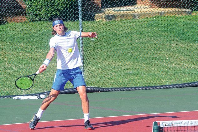 WCHS tennis - Alessandro