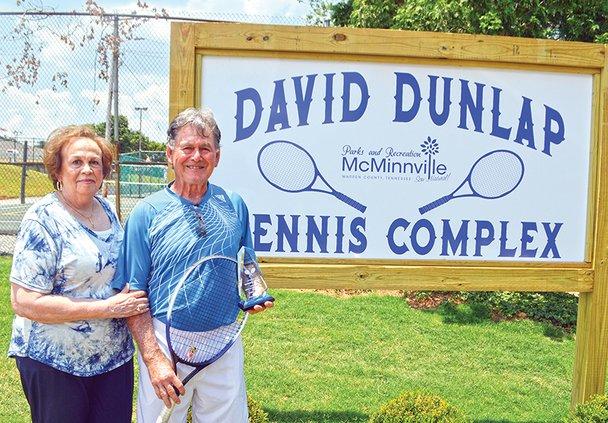 David Dunlap by sign.jpg