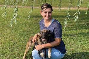 Crossroads Shelter Aid - Ashley Bouldin and Maggie.jpg